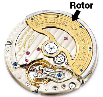 Automatic Watch Movement with Rotor