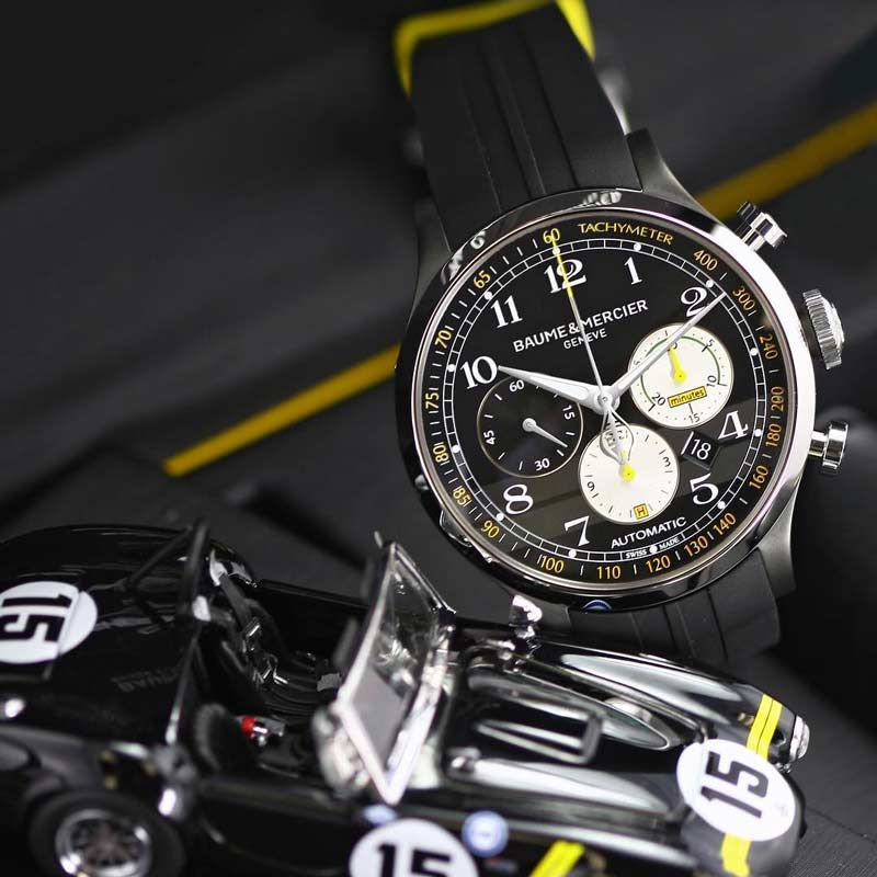 releases mercier cobra drivers edition baume shelby driver legendary limited watch capeland watches