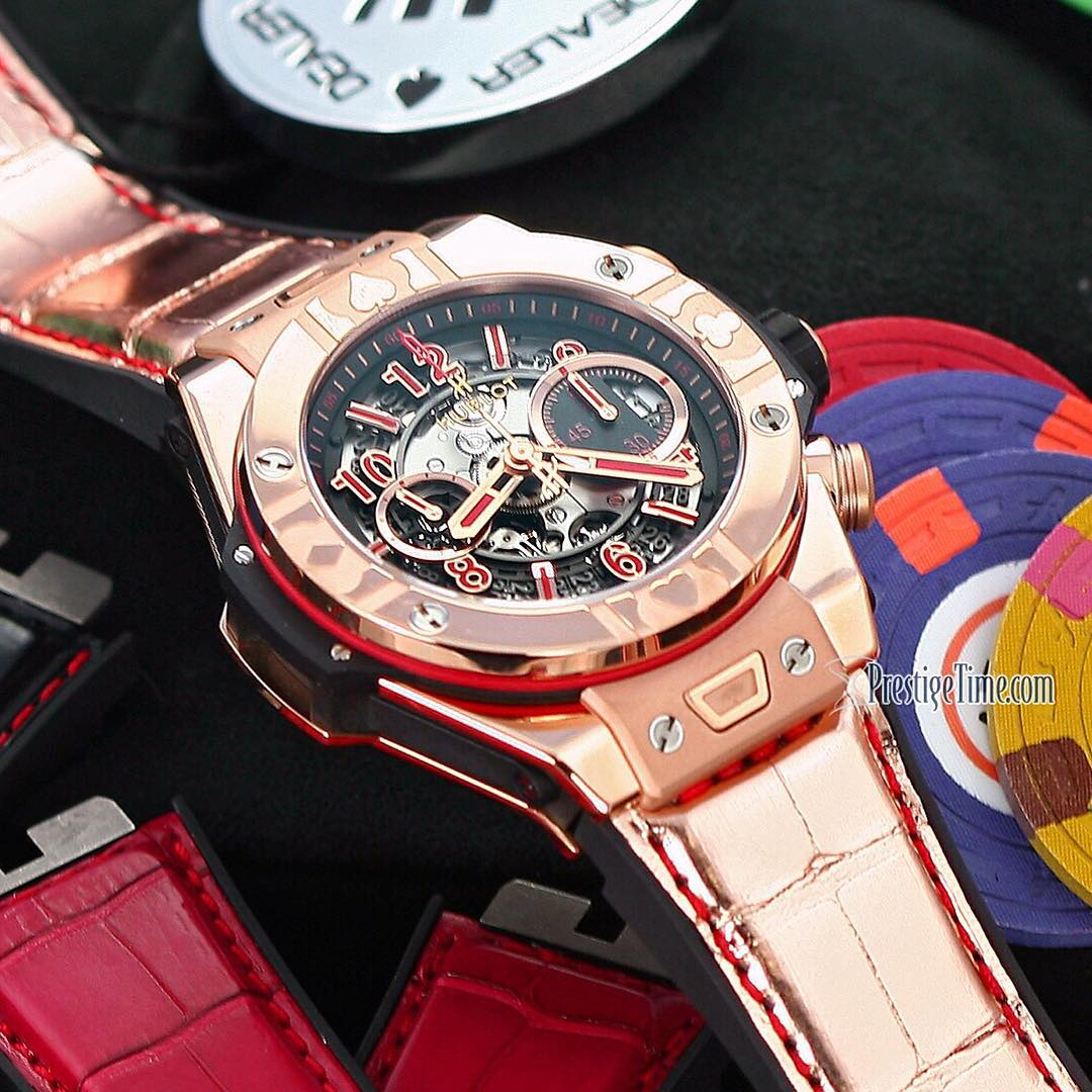 Big Bang Chrono Unico World Poker Tour