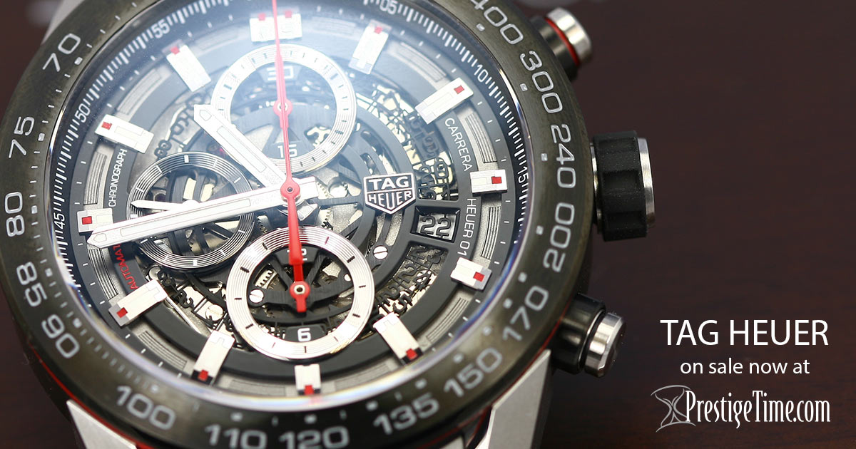 ad80998ee160 TAG Heuer Watches - Prestige Time