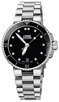 Oris Aquis Date Diamonds 36mm 01 733 7652 4194-07 8 18 01P