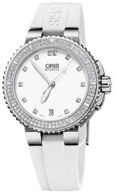 Oris Aquis Date Diamonds 36mm 01 733 7652 4991-07 4 18 31