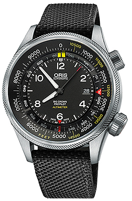 Oris Big Crown ProPilot Altimeter with Feet Scale 47mm 01 733 7705 4134-07 5 23 15FC