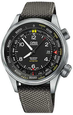 Oris Big Crown ProPilot Altimeter with Feet Scale 47mm 01 733 7705 4134-07 5 23 17FC