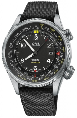 Oris Big Crown ProPilot Altimeter with Meter Scale 47mm 01 733 7705 4164-07 5 23 15FC