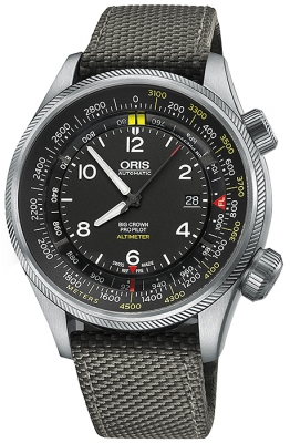 Oris Big Crown ProPilot Altimeter with Meter Scale 47mm 01 733 7705 4164-07 5 23 17FC