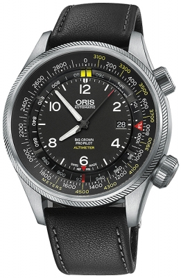 Oris Big Crown ProPilot Altimeter with Meter Scale 47mm 01 733 7705 4164-07 5 23 19FC