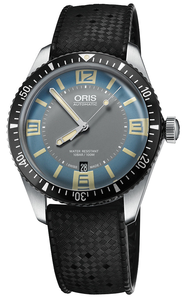 01 733 7707 4065 07 4 20 18 oris divers sixty five mens watch - 40mm dive watch ...
