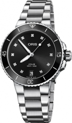 Oris Aquis Date Diamonds 36.5mm 01 733 7731 4194-07 8 18 05P