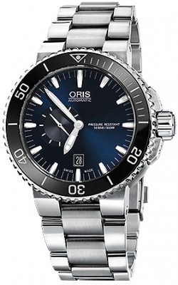 Oris Aquis Small Second, Date 46mm 01 743 7673 4135-07 8 26 01PEB