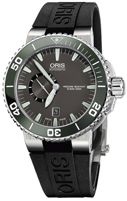 Oris Aquis Small Second, Date 46mm 01 743 7673 4137-07 4 26 34EB