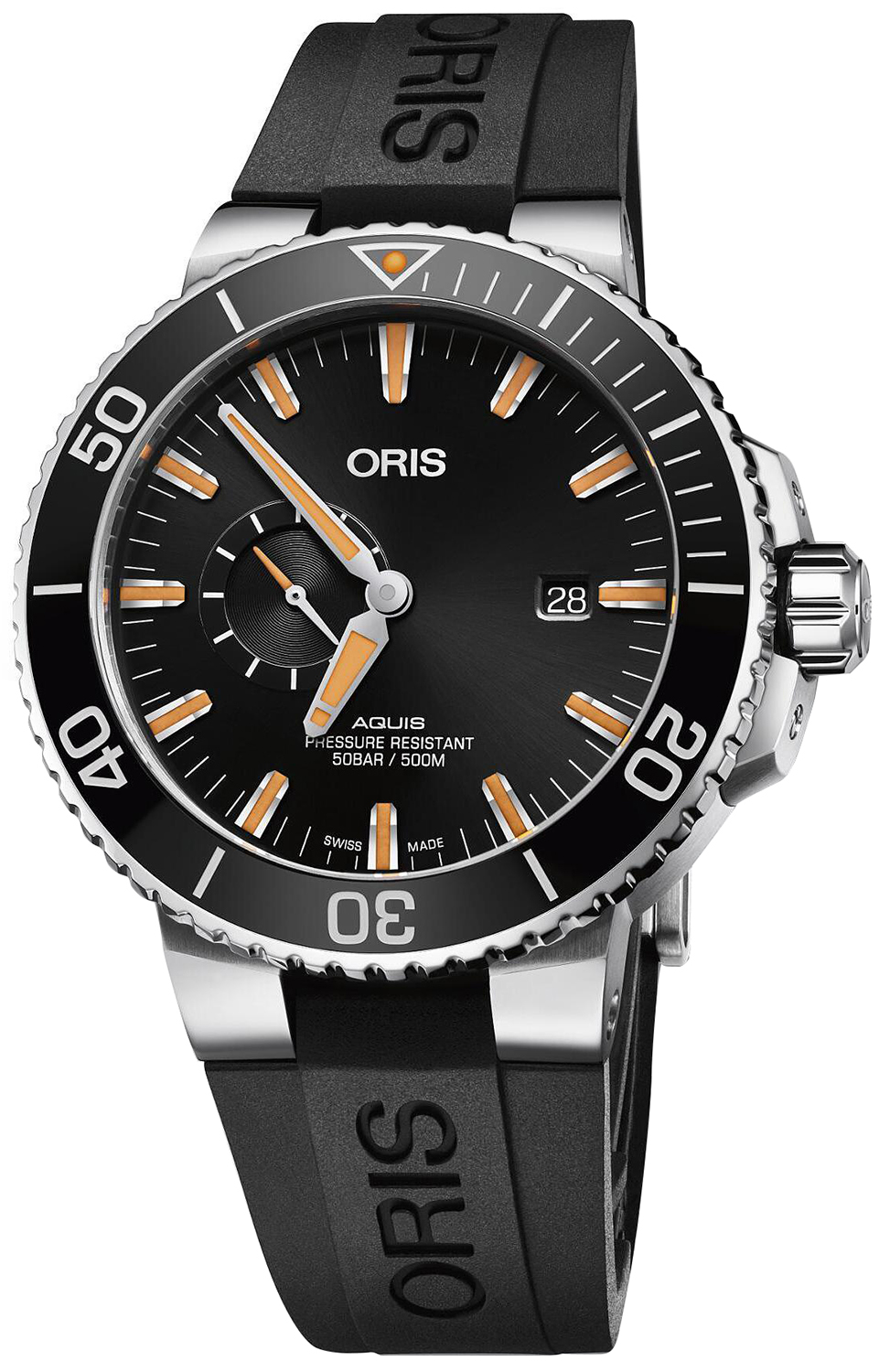automatic mens original gents heritage five diver orisdiverssixty watch watchshop watches oris com