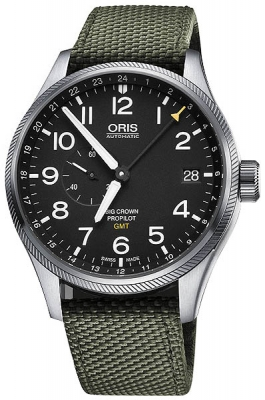 Oris Big Crown ProPilot GMT Small Seconds 45mm 01 748 7710 4164-07 5 22 14FC