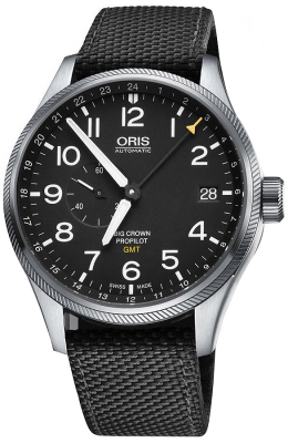 Oris Big Crown ProPilot GMT Small Seconds 45mm 01 748 7710 4164-07 5 22 15FC