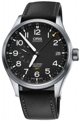 Oris Big Crown ProPilot GMT Small Seconds 45mm 01 748 7710 4164-07 5 22 19FC