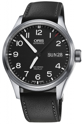 Oris Big Crown ProPilot Day Date 45mm 01 752 7698 4164-07 5 22 19FC