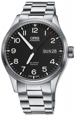 Oris Big Crown ProPilot Day Date 45mm 01 752 7698 4164-07 8 22 19