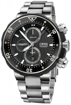Oris ProDiver Chronograph 51mm 01 774 7683 7154-Set