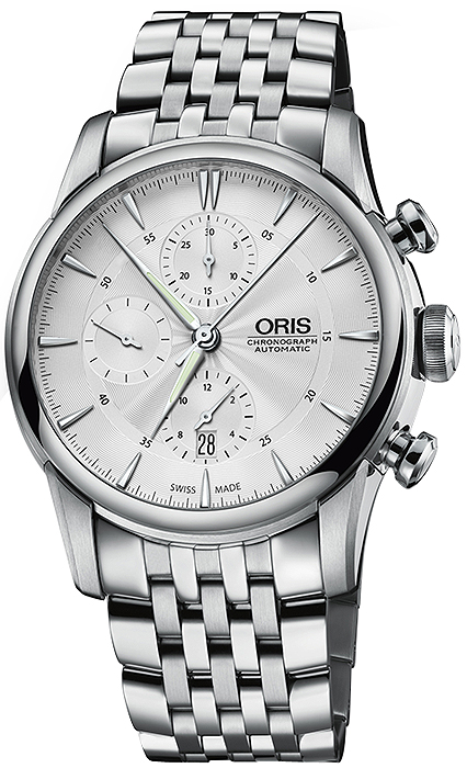 613136073 01 774 7686 4051-07 8 23 77 Oris Artelier Chronograph Mens Watch