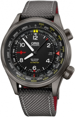 Oris Big Crown ProPilot Altimeter with Meter Scale 47mm 01 733 7705 4264-Set5 23 16GFC