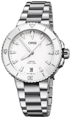 Oris Aquis Date 36.5mm 01 733 7731 4151-07 8 18 05P