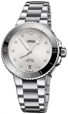 Oris Aquis Date Diamonds 36.5mm 01 733 7731 4191-07 8 18 05P