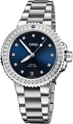 Oris Aquis Date Diamonds 36.5mm 01 733 7731 4995-07 8 18 05P