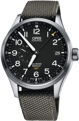 Oris Big Crown ProPilot GMT Small Seconds 45mm 01 748 7710 4164-07 5 22 17FC