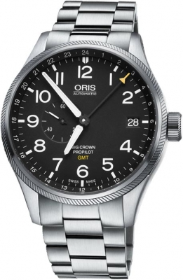 Oris Big Crown ProPilot GMT Small Seconds 45mm 01 748 7710 4164-07 8 22 19