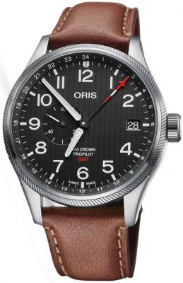 Oris Big Crown ProPilot GMT Small Seconds 45mm 01 748 7710 4184-Set