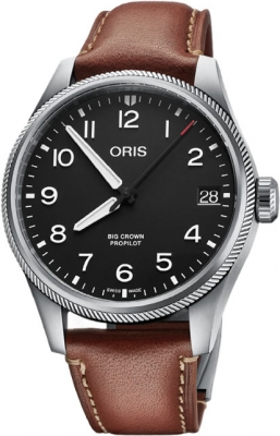 Oris Big Crown ProPilot Date 41mm 01 751 7761 4164-07 6 20 07LC