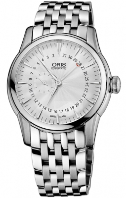 Oris Artelier Small Second, Pointer Date 01 744 7665 4051-07 8 22 77