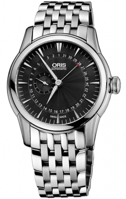 Oris Artelier Small Second, Pointer Date 01 744 7665 4054-07 8 22 77