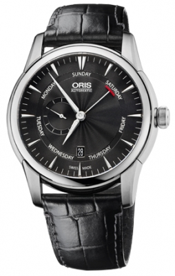 Oris Artelier Small Second, Pointer Day 01 745 7666 4054-07 1 23 74FC