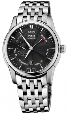 Oris Artelier Small Second, Pointer Day 01 745 7666 4054-07 8 23 77
