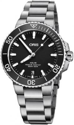 Oris Aquis Date 39.5mm 01 733 7732 4124-07 8 21 05EB