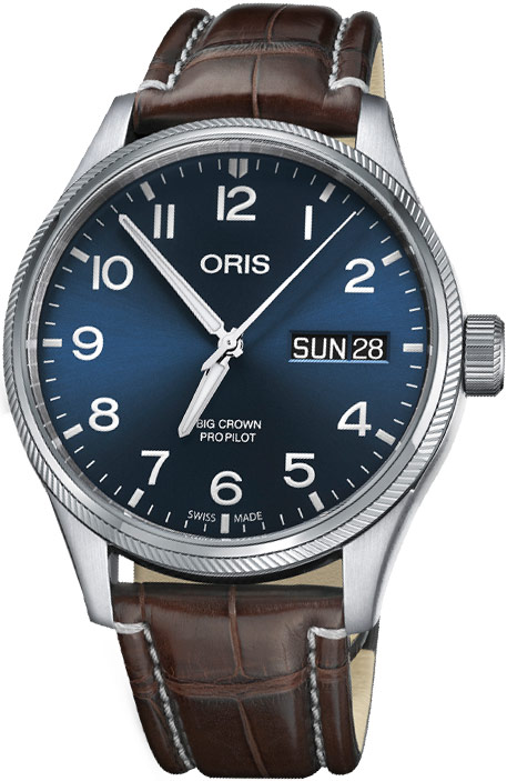 Availability. Oris Big Crown ProPilot Day Date 45mm Mens Watch Model  Number  01 752 7698 4065-07 1 22 72FC 96539ebfdf