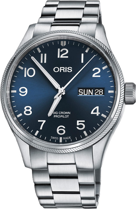 Availability. Oris Big Crown ProPilot Day Date 45mm Mens Watch Model  Number  01 752 7698 4065-07 8 22 19 190a28727e