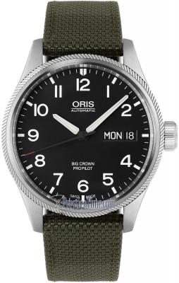 Oris Big Crown ProPilot Day Date 45mm 01 752 7698 4164-07 5 22 14FC