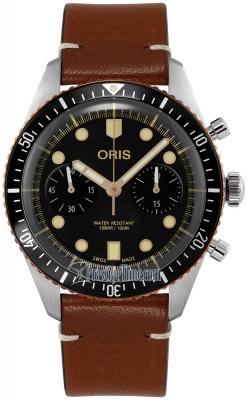Oris Divers Sixty-Five Chronograph 01 771 7744 4354-07 5 21 45