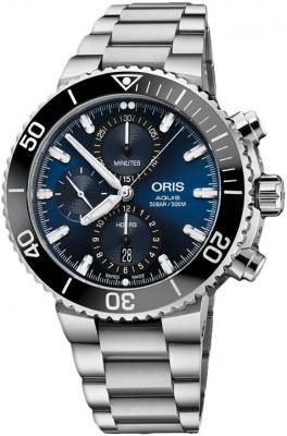 Oris Aquis Chronograph 45.5mm 01 774 7743 4155-07 8 24 05PEB
