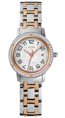 Hermes Clipper Quartz MM 28mm 035348WW00