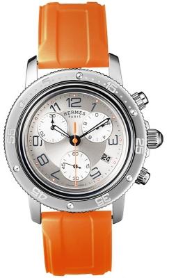 Hermes Clipper Chrono Quartz GM 36mm 036081WW00