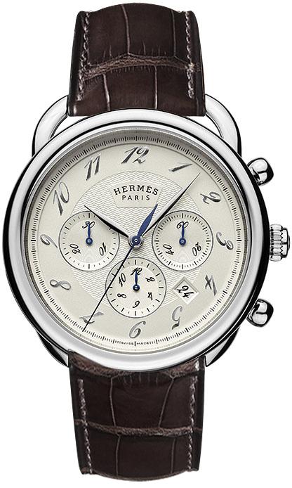 a30b7aa9b6fbb Availability. Hermes Arceau Automatic Chronograph 43mm Mens Watch