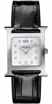 Hermes H Hour Quartz Medium MM 036814WW00