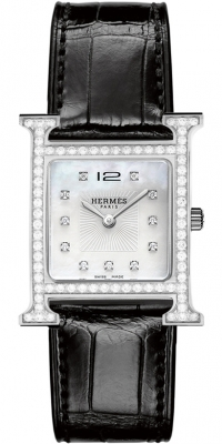 Hermes H Hour Quartz Medium MM 036880WW00