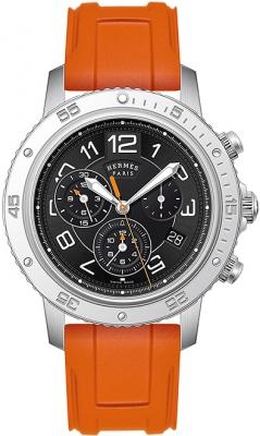 Hermes Clipper Chrono Alarm Quartz TGM 41mm 039342WW00