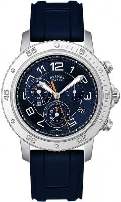 Hermes Clipper Chrono Alarm Quartz TGM 41mm 039344WW00