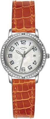 Hermes Clipper Quartz MM 28mm 039521WW00