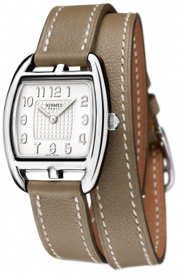 Hermes Cape Cod Tonneau Quartz Small PM 039882WW00